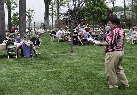 Fac-Staff Campaign picnic