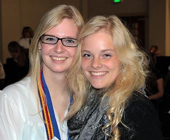Charissa and Bethany Catlin