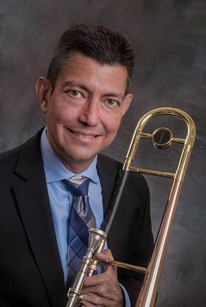 Jazz Studies Director Freddie Mendoza