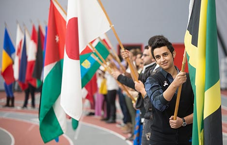 Flag day 2014 - procession
