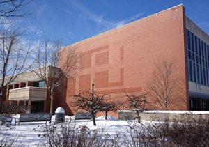 Krannert Memorial Library opened in 1977.