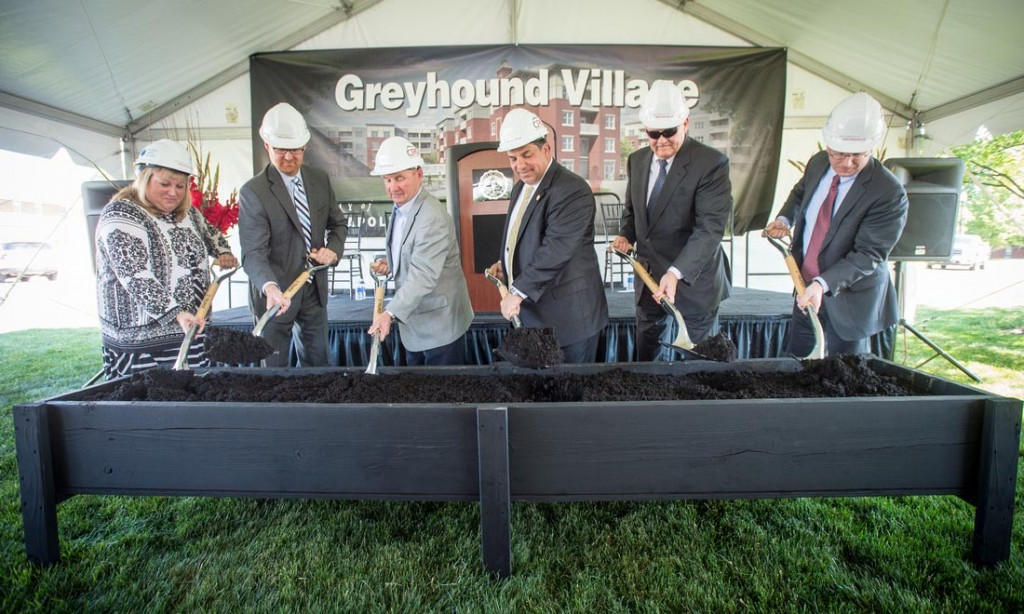 Greyhound Village groundbreaking