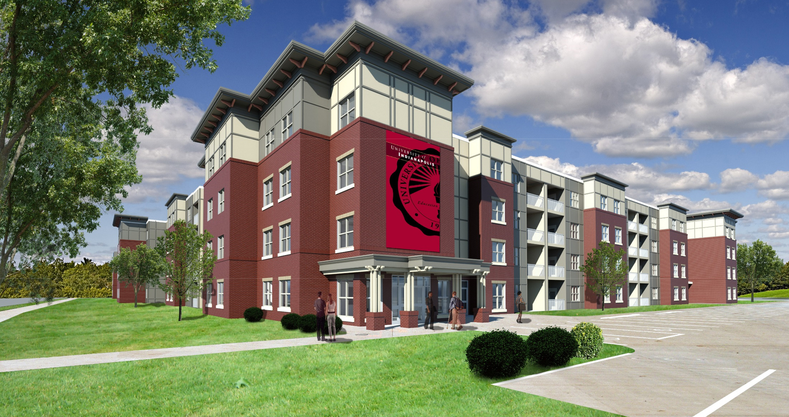 Work to begin on new student apartments - UIndy 360