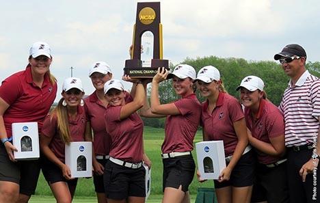 women's golf champs