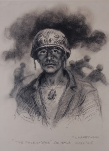 The Face of War - T.L. Harby - UIndy - opens Nov. 9