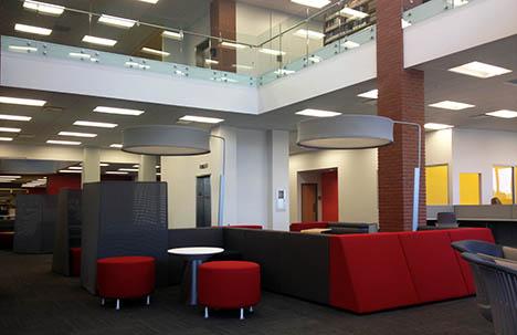 The revamped Krannert Memorial Library