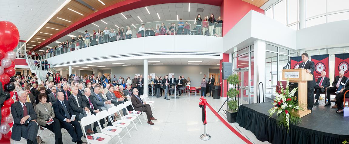 Health Pavilion dedication panorama
