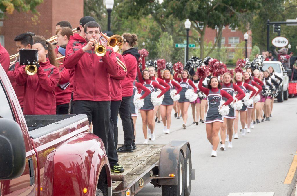 Homecoming parade 2015
