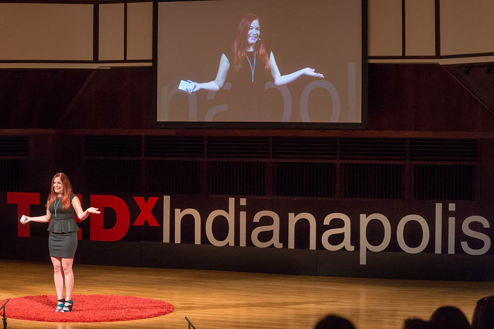 TEDxIND - Nikki Reed