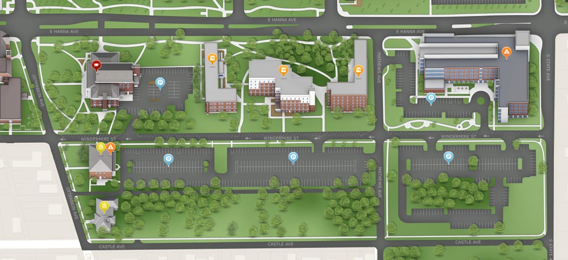 Street changes will add parking, ease traffic – UIndy 360 on iupui map, iu map, plattsburgh state map, uwg map, ball state map, indianapolis indiana map, umsl map, usi map,
