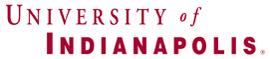 Univ of Indpls logo