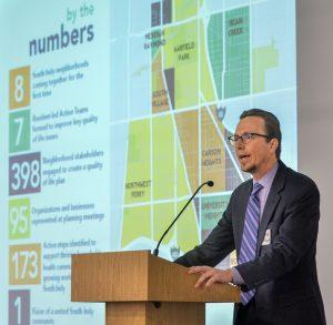 Rob Evans, Vice President of the Indianapolis Neighborhood Housing Partnership (INHP).