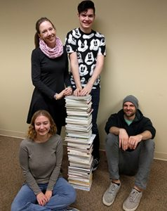 Students enrolled in ENG 479 reviewed the 83 submissions and selected winners in the categories of prose and poetry.