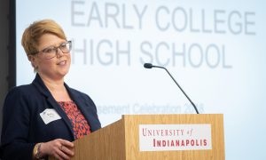 Emily Burke, Director of Early College at CELL