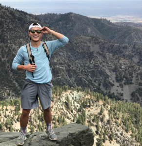 Andrew Rattay at Mt. Baldy, California