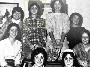 Kelly Adams Lutgring '84 (top row, second from left)