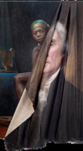 "Titus Kaphar, ""Behind the Myth of Benevolence,"" 2014"