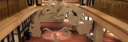 Beethoven Sculpture at the Indianapolis Symphony Orchestra