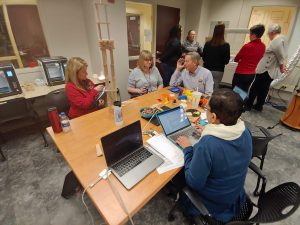 professors use makerspace