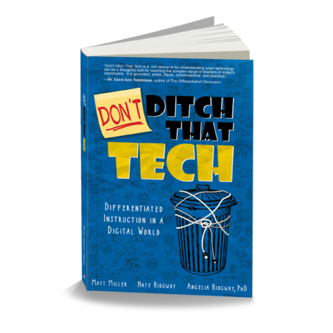 Ditch That Text hard cover book.