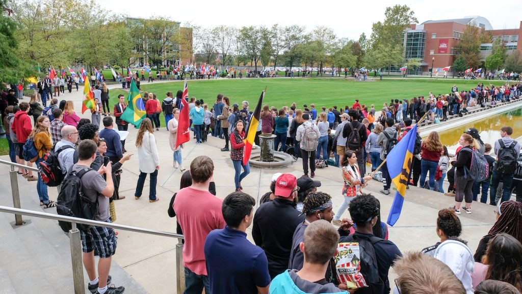 Celebration of the Flags at the University of Indianapolis