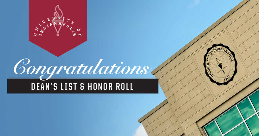 Dean's List and Honor Roll graphic
