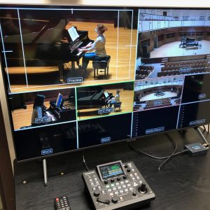 Live streaming technology at the UIndy Department of Music