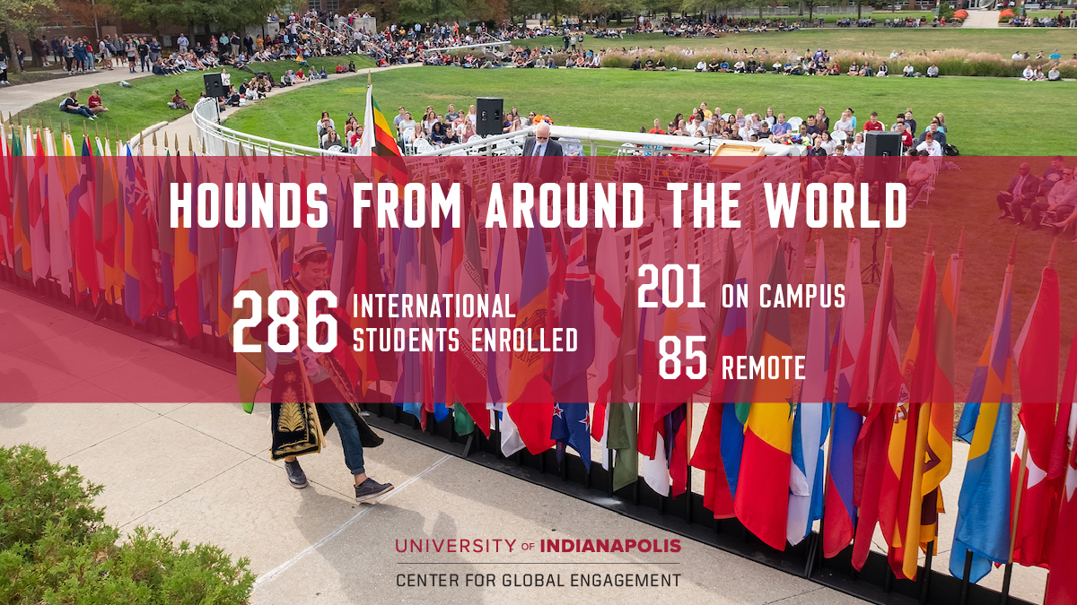 International students infographic